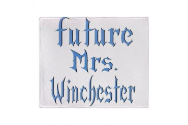 Future Mrs Winchester 2.png Stadium Blanket Pop culture Throw Blanket by CafePress