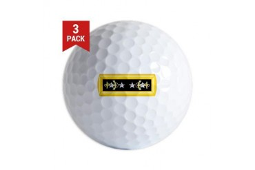 Admiral of the Navy RI Navy Golf Balls by CafePress