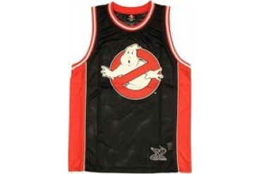 Ghostbusters Logo Who You Gonna Call Basketball Jersey