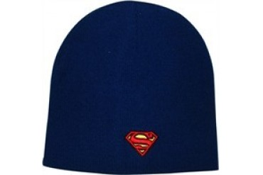 DC Comics Superman Shield Logo Embroidered Beanie