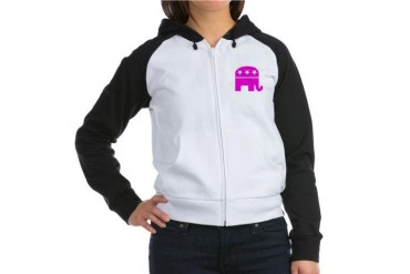 Conservative Women's Raglan Hoodie by CafePress