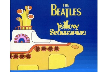 The Beatles Yellow Submarine Fleece Throw Blanket
