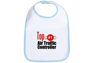 Top Air Traffic Controller Occupations Bib by CafePress