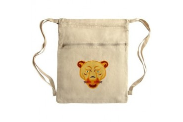 Sack Pack Lion Cinch Sack by CafePress
