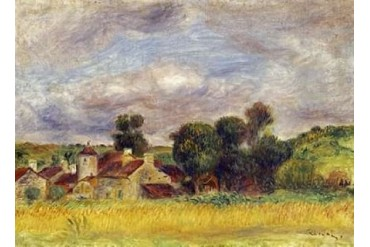 Brittany Countryside Poster Print by Pierre-Auguste Renoir (10 x 14)