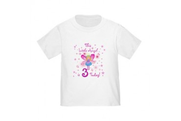 Birthday Angel 3rd Birthday Toddler T-Shirt