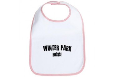 Winter Park Rocks Florida Bib by CafePress