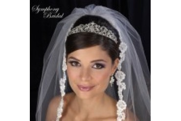 Symphony Bridal Crowns - Style 7416CR