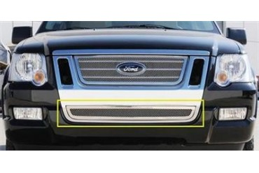 T-Rex Grilles Upper Class; Mesh Bumper Grille Bolt-On Insert 55662 Bumper Valance Grille Inserts