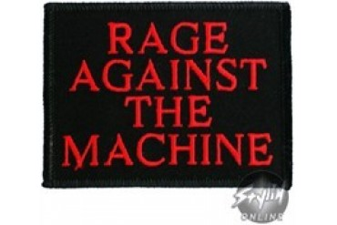 Rage Against the Machine Name Red Patches