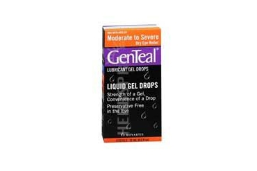 Genteal Lubricant Gel Eye Drops Moderate To Severe 0.5 oz