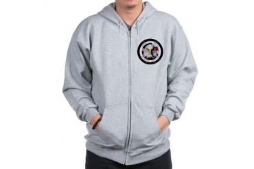 US Military Hall of Fame Military Zip Hoodie by CafePress