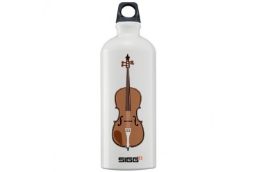 Double Bass Jazz Sigg Water Bottle 1.0L by CafePress