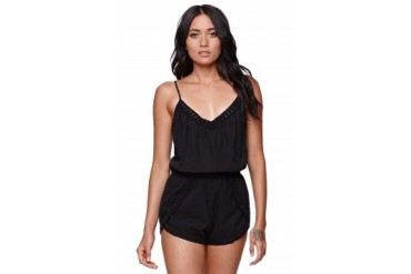 Womens Billabong Dresses & Rompers - Billabong Secret Treasure Romper