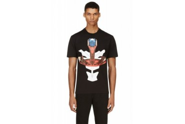 Givenchy Black And Red Tribal Arrow T shirt