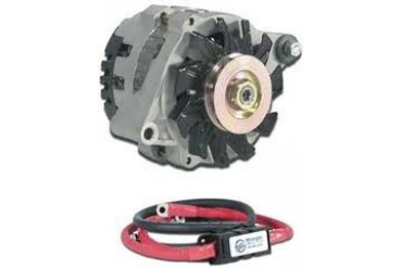 Wrangler NW Power High Output Alternator Kit by Wrangler NW Power Products 20-ANDF120JL Alternators