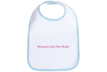 Mommy's Little Hair Model Mother's day Bib by CafePress