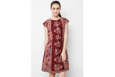 Batik Solo Mini Dress Batik