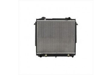 Omix-Ada Replacement 2 Core Radiator for 4 or 6 Cylinder Engine with Automatic Transmission 17101.17 Radiator