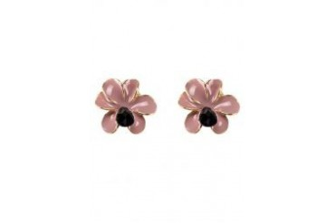 Sze Accessories Accent Floral Stud Earrings