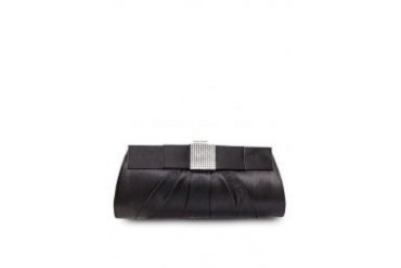 Unisa UNISA Dinner Clutch with Crystal Embellishment