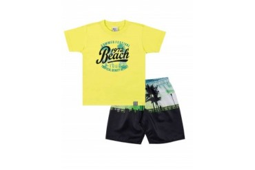 Infant Toddler Boys Short Sleeve Shirt amp Shorts 2pc Outfit Set 1-3Y