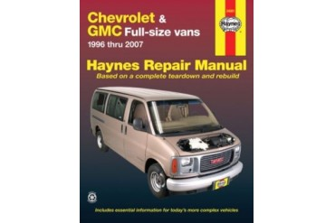 2001-2002 GMC Savana 3500 Manual Haynes GMC Manual 24081 01 02