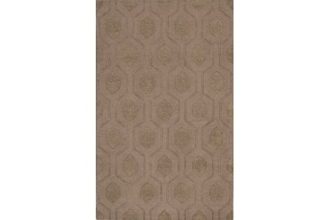 Dalyn Tones Contemporary Brown Geometric Diamonds Lines Octagons Area Rug
