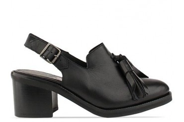 To Be Announced Aurelia in Black Leather size 6.0