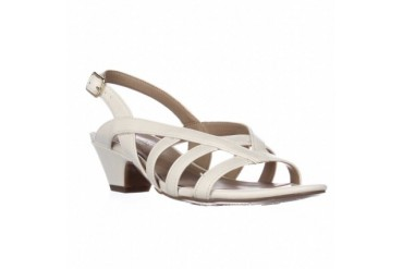 naturalizer Belize Strappy Dress Sandals - Cream, 6 W US