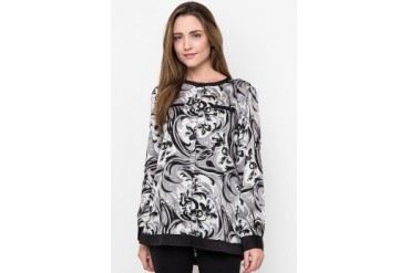 Bodytalk Abstract Blouse