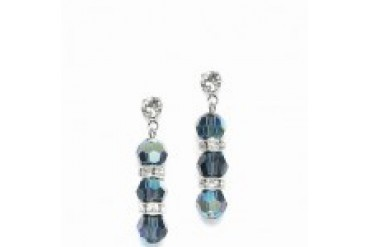 Mariell Color Accented Earrings - Style 634E