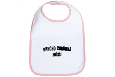 Rancho Cordova Rocks California Bib by CafePress