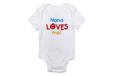 Nana Loves Me Infant Creeper