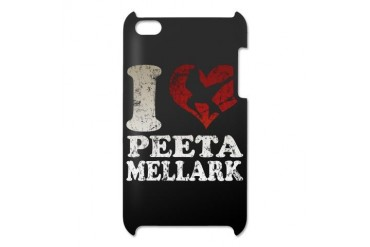 Hunger Games I heart Peeta iPod Touch 4 Case