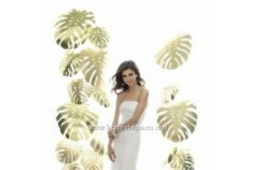 Sandals Wedding Dresses by Dessy - Style 1016