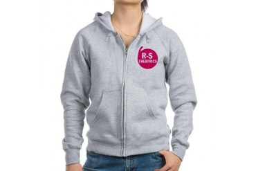 R-S Theatrics Pink Pink Women's Zip Hoodie by CafePress