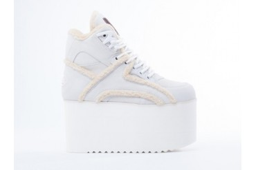 Buffalo X Forfex Mutton in Off White size 11.0