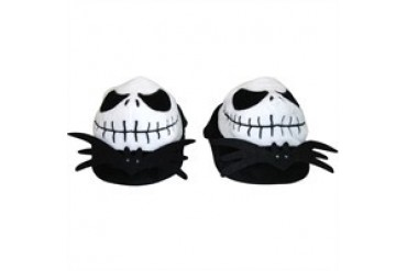 Nightmare Before Christmas Jack Skellington Plush Head Slippers