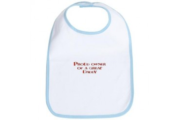 Great Daddy Family Pride Dad Bib by CafePress