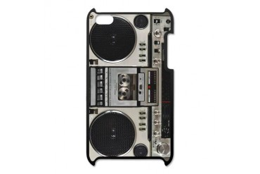 Vintage Boombox iPod Touch 4 Case
