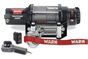 Warn Vantage 4000 Winch 89040 3,000 to 6,000 lbs. ATV Winches
