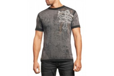 Affliction T-shirt - Affliction Dissolve Crewneck T-shirt
