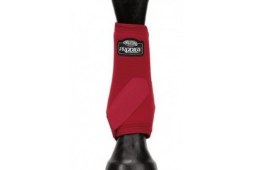 Weaver 35-4285-S7 Performance Boots Small Front Red