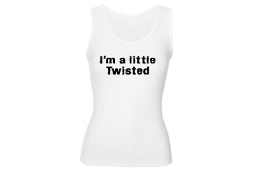 I'm A Little Twisted Tv Women's Tank Top by CafePress