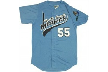 Eastbound and Down Kenny Powers Myrtle Beach Mermen #55 Baseball Jersey