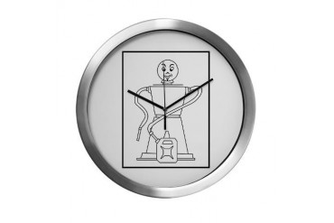 No.9 Military Petrol Filling Centre Modern Wall Cl Military Modern Wall Clock by CafePress
