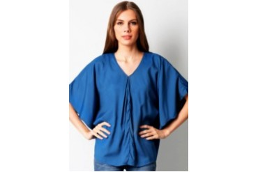 Now & Forever Vneck Batwing Blouse