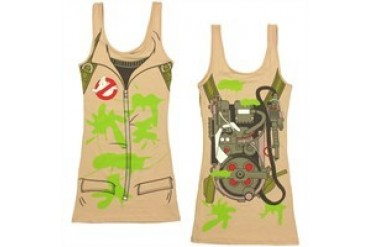 Ghostbusters Costume Slime Snug Fit Tank Top Dress
