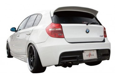 Apple Auto A-Real Rear UnderDiffuser 01 Type B - Carbon BMW 1-Series Hatch E87 05-11